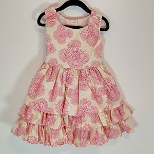 Persnickety 3T Dress Adeline Daffodils Dandelions